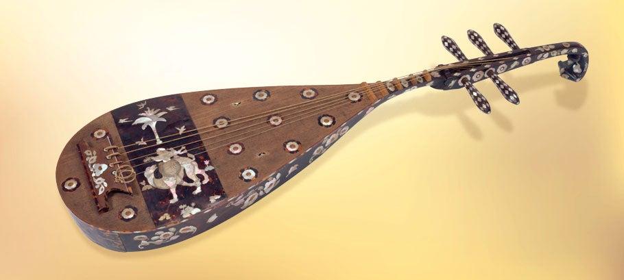 《螺鈿紫檀五絃琵琶》唐時代・8世紀 正倉院宝物[前期展示]