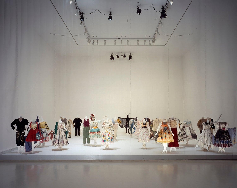 マルク・シャガール《バレエ『アレコ』の衣装》