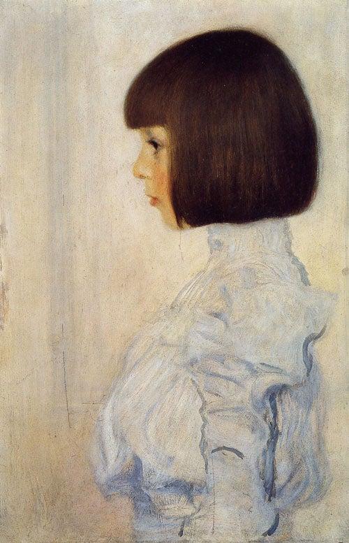 グスタフ・クリムト《ヘレーネ・クリムトの肖像》